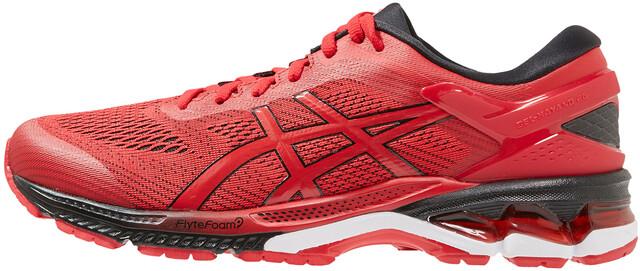asics Gel Kayano 26 Schuhe Herren speed redblack